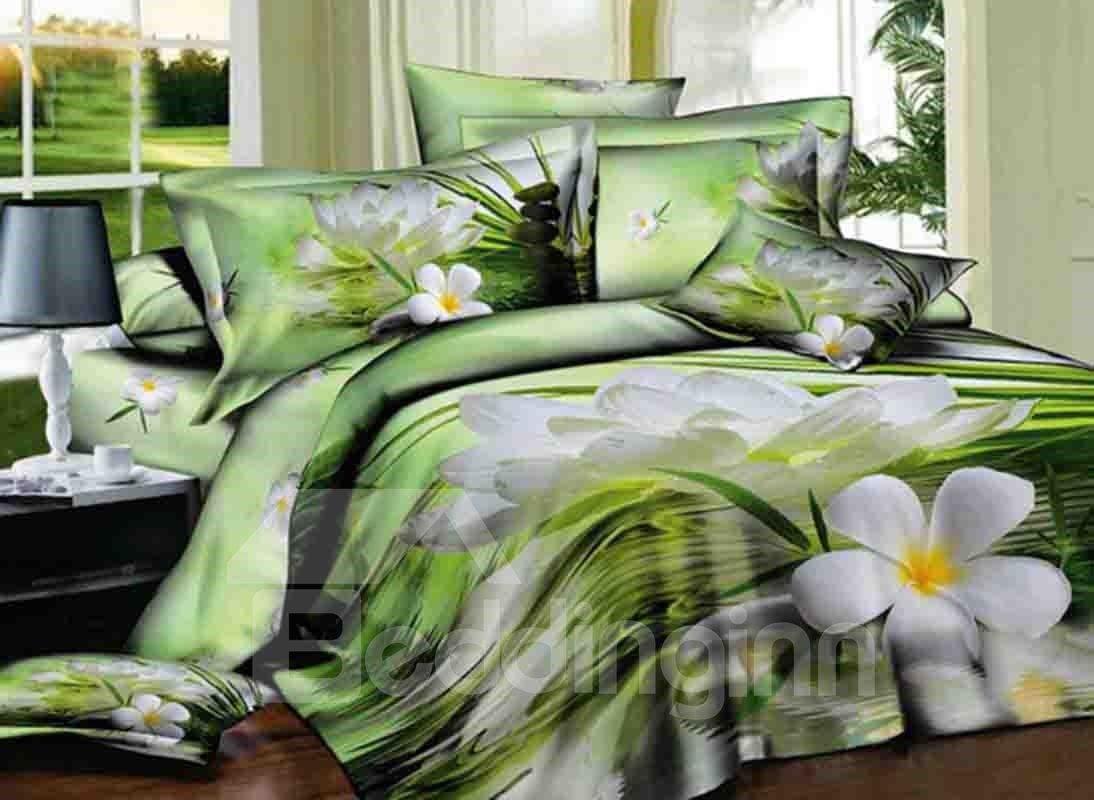 bedding sets king green
