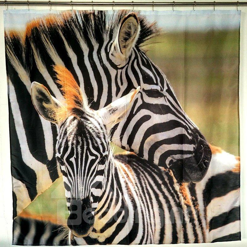 Zebra Europe Type Shower Curtains