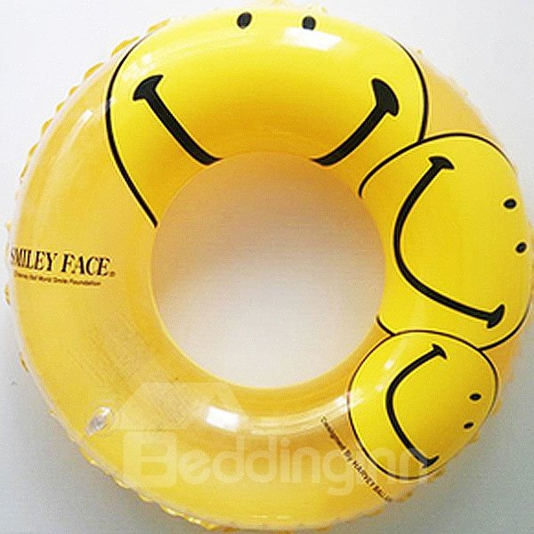 INOpets.com Anything for Pets Parents & Their Pets Happy Smiley Faces Swim Ring for Children