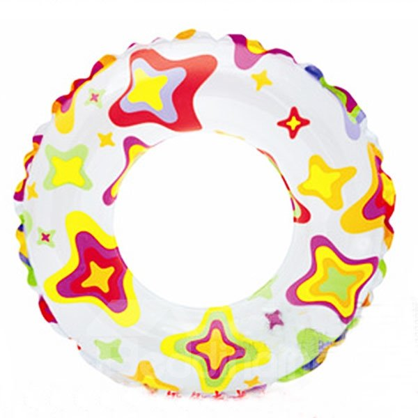 INOpets.com Anything for Pets Parents & Their Pets Adorable Star Shape Pattern Children Swim Ring