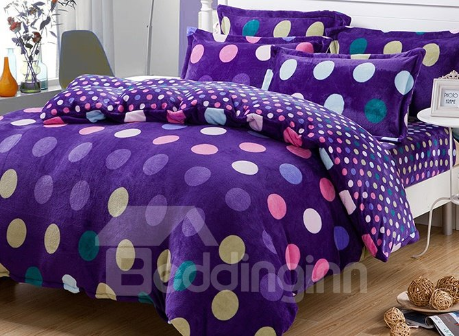 king purple bedding sets