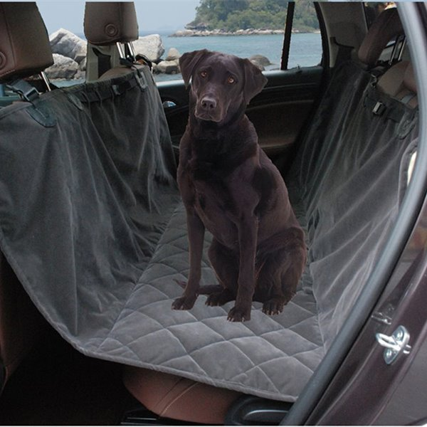 INOpets.com Anything for Pets Parents & Their Pets High Quality And Suede Material Rear Pets Seat Mat