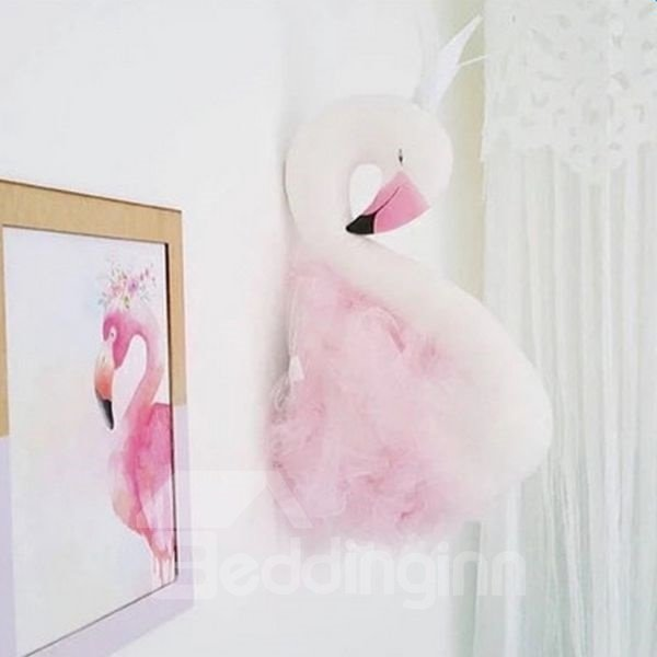 INOpets.com Anything for Pets Parents & Their Pets Fancy Home Decor 3D Swan Queen Design Wall Decor