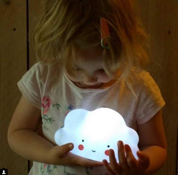 Super Cute Home Decor Cloud Design Kids LED Light
