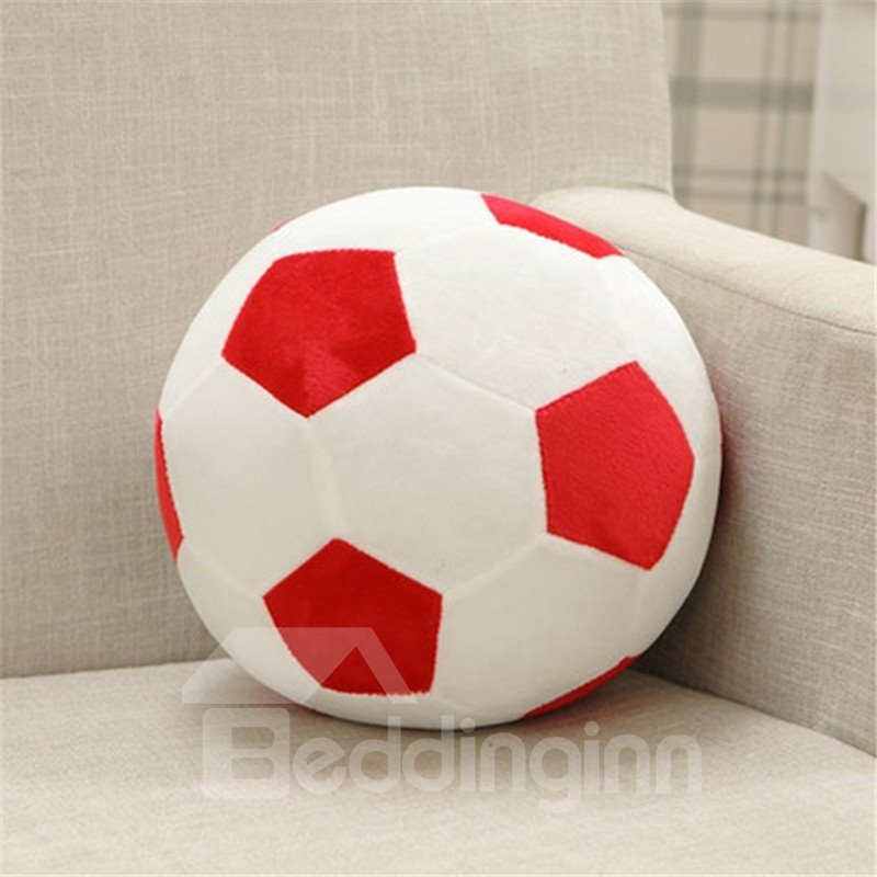 INOpets.com Anything for Pets Parents & Their Pets Personalized Sports Soccer Ball Shaped Decorative Pillow