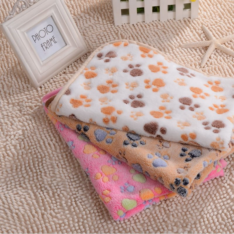 INOpets.com Anything for Pets Parents & Their Pets Warm Pattern Pets Bed Cove Blanket For Small Dogs&Cats