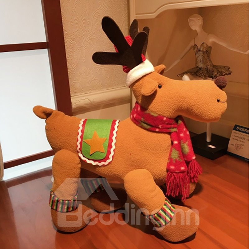 Little Deer Home Desk Decor Cute Merry Christmas