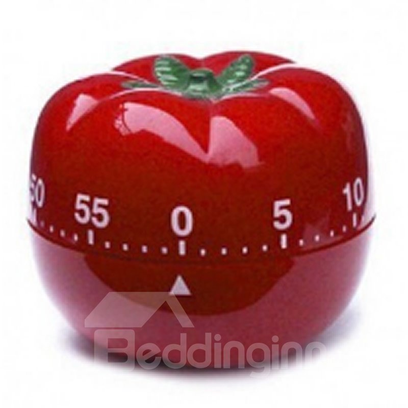 INOpets.com Anything for Pets Parents & Their Pets 1-60Min 360 Degree Kitchen Cooking Tools Tomato Mechanical Countdown Timer