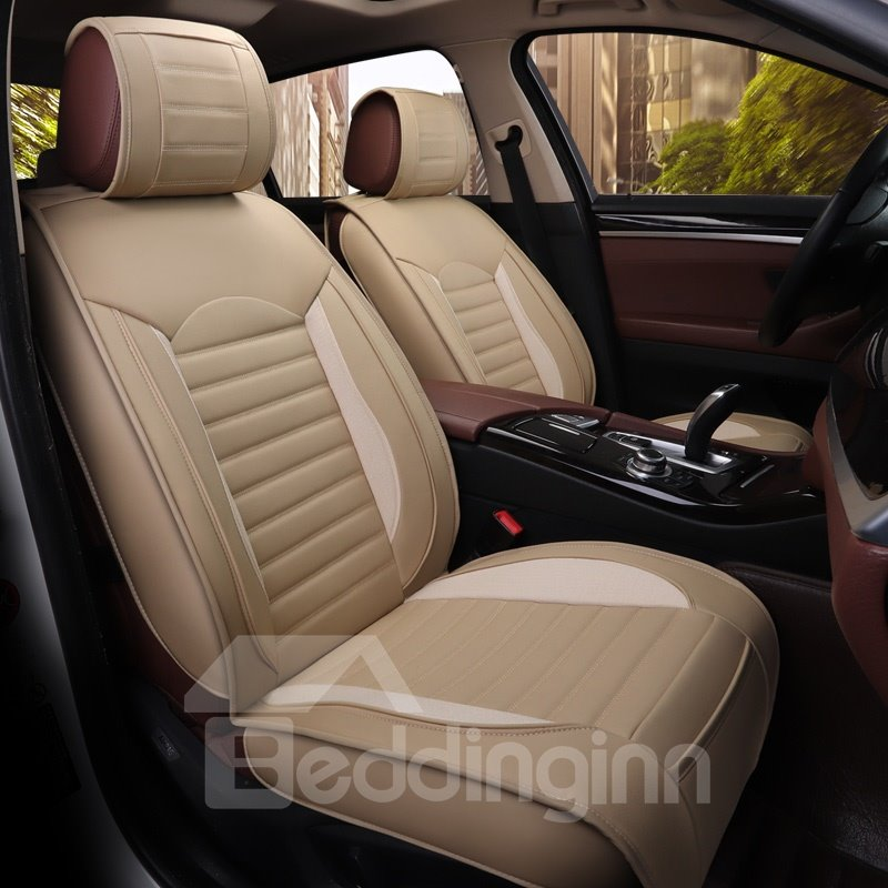 Glamorous Tempting Business Style Universal Leather Car Seat Cover